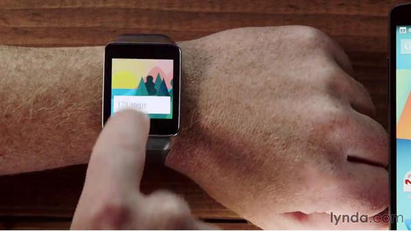 Welcome: Up and Running with Android Wear