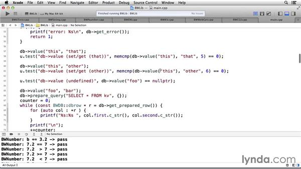 The C++ classes used in this course: Code Clinic: C++