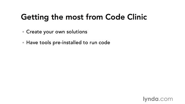 Getting the most from Code Clinic: Code Clinic: Ruby