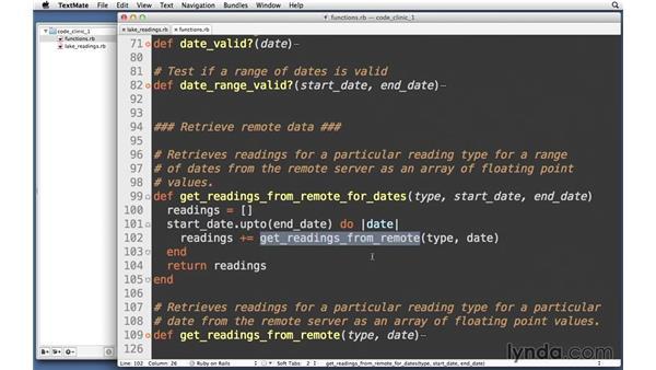 Retrieving remote data: Code Clinic: Ruby