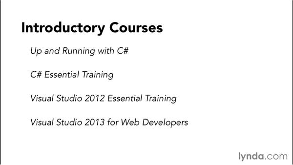 What you should know before starting this course: Code Clinic: C#