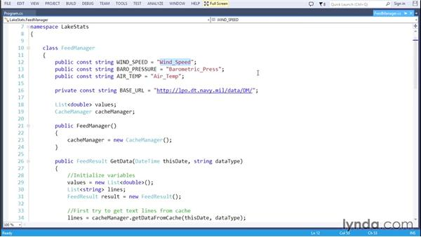 Running the console application: Code Clinic: C#