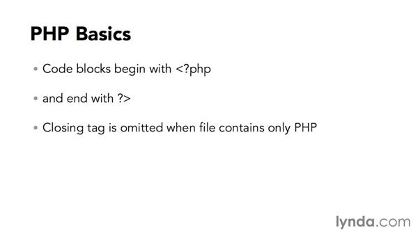 What you should know before watching this course: Code Clinic: PHP
