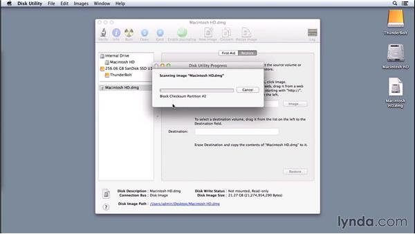Deploying using Disk Utility: Imaging and Deploying Macintosh Computers