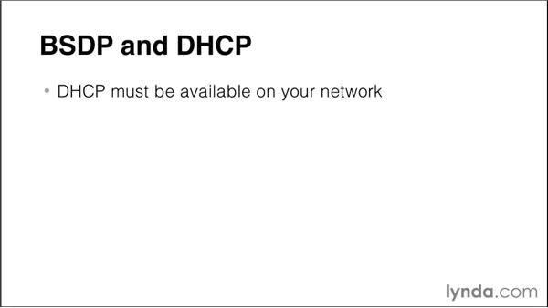 Understanding BSDP and DHCP access: Imaging and Deploying Macintosh Computers