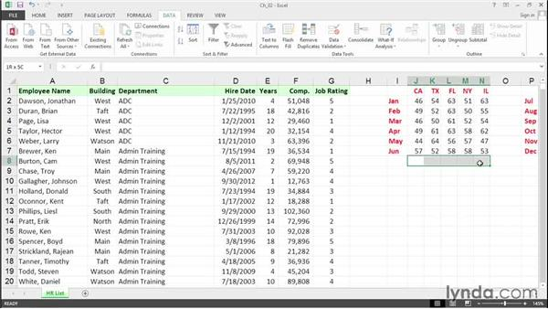 Access Ribbon commands with Alt key sequences: Excel 2013 Tips and Tricks