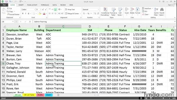 Select an entire row, column, or worksheet: Excel 2013 Tips and Tricks
