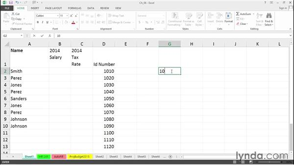 Accelerate data entry: Excel 2013 Tips and Tricks