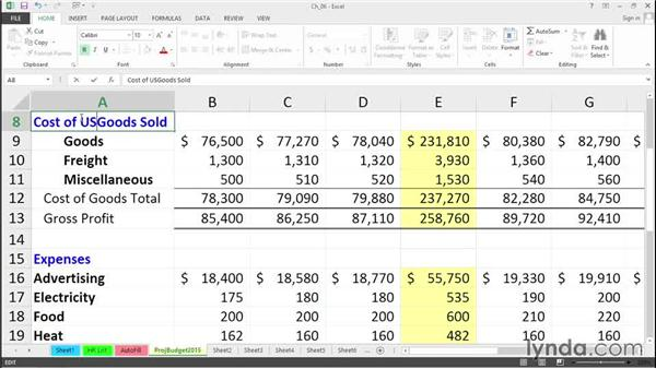 Enhanced editing tools: Excel 2013 Tips and Tricks