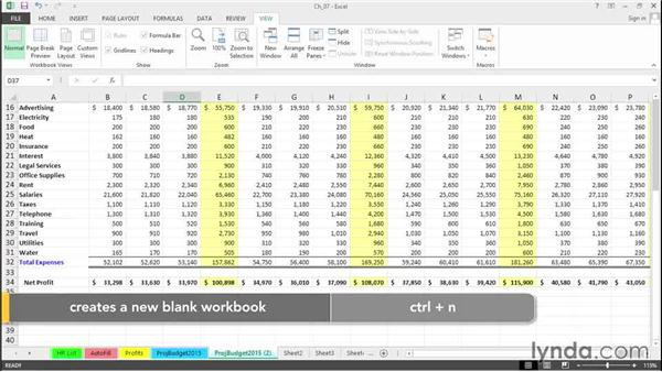 Accelerate worksheet copying and moving: Excel 2013 Tips and Tricks
