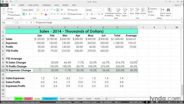 Drag and insert with the Shift key: Excel 2013 Tips and Tricks
