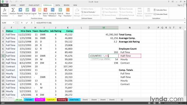 Create formulas rapidly: Excel 2013 Tips and Tricks