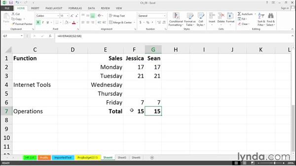 Select and manipulate blank cells: Excel 2013 Tips and Tricks