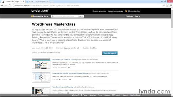 Exploring WordPress theme development with lynda.com: WordPress Developer Tips: Using Custom Web Fonts