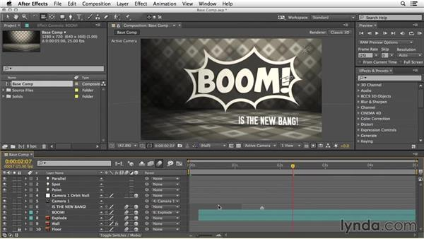 What you should know before watching this course: 3D Typography in After Effects