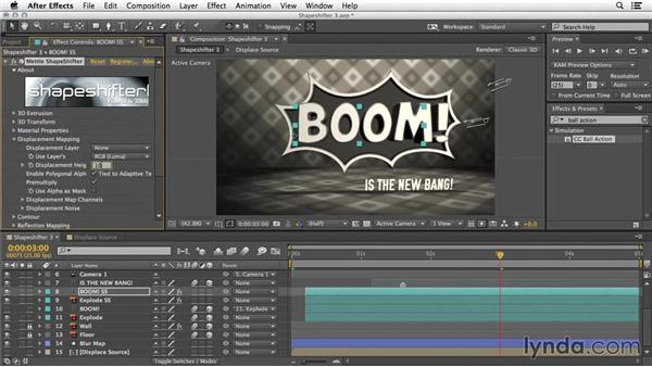 More options: 3D Repeater and 3D deformers: 3D Typography in After Effects