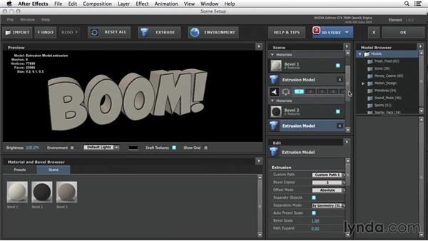 Explode Layers Extrusion: 3D Typography in After Effects