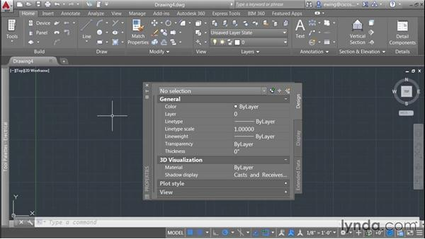 Starting from a template and using the interface: AutoCAD MEP Essential Training
