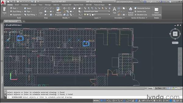 Creating schedules: AutoCAD MEP Essential Training