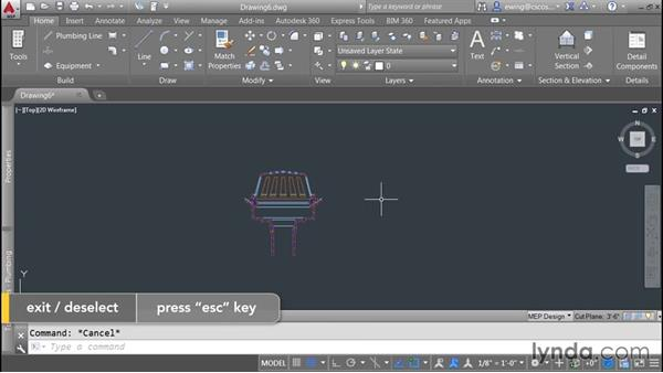 Adding detail components: AutoCAD MEP Essential Training