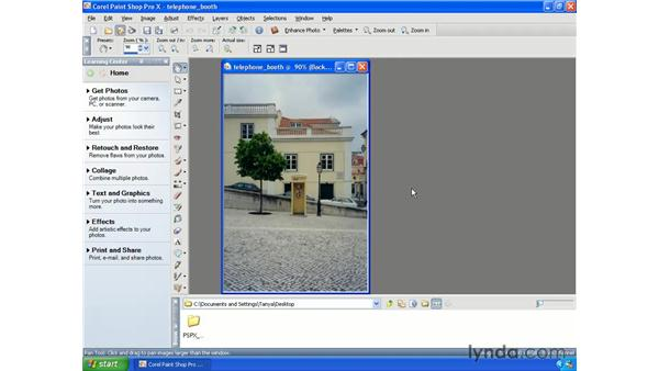 Using One-Step Photo Fix: Paint Shop Pro X Essential Training