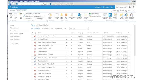 Modifying metadata using Quick Edit: SharePoint 2013 for Site Champions and Power Users