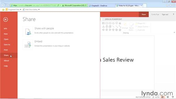 Embedding Office Online documents in webpages: Office Online Essential Training