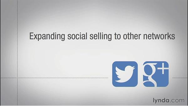 Expanding social selling to other social networks: Social Selling with LinkedIn (2014)