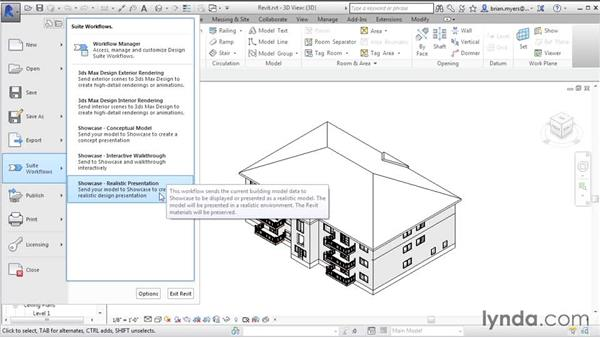 Exporting from Revit to Showcase: Up and Running with Showcase
