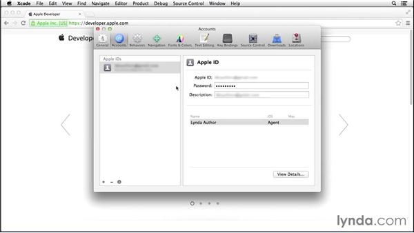 Setting up your iOS Developer account and Xcode