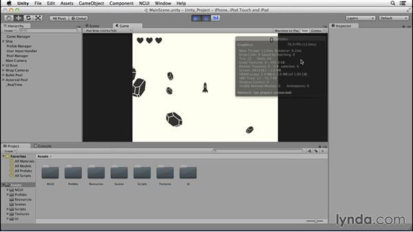 Profiling in Unity: Creating Mobile Games with Unity