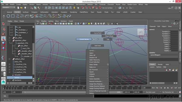 Rigging the back: Rigging a Quadruped in Maya