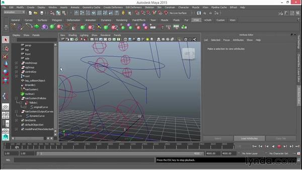 Controlling the dog tag with dynamics: Rigging a Quadruped in Maya