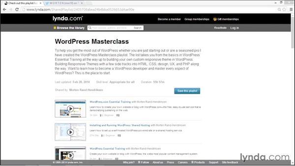 Exploring WordPress theme development with lynda.com: WordPress Plugins: Advanced Custom Fields