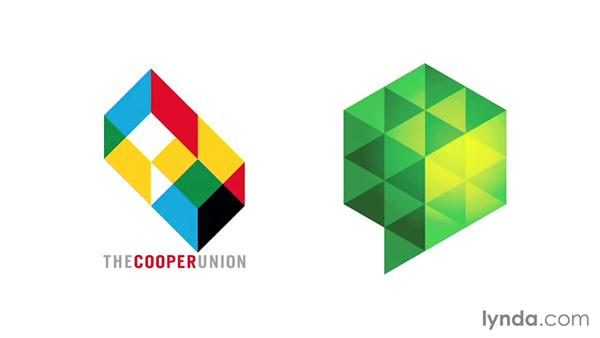 Shapes: A transparent wrap: LogoLounge: Visual Effects in Logo Design