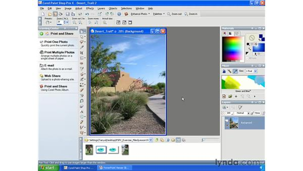 Recording and saving scripts: Paint Shop Pro X Essential Training