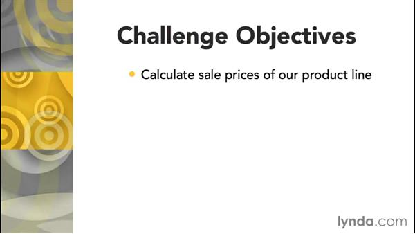 Challenge: Calculate sales prices for a product line: Access 2013: Queries in Depth