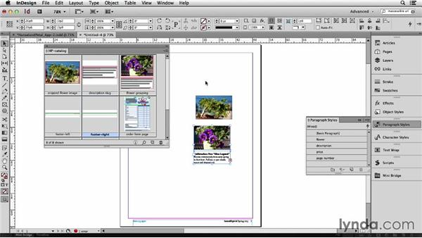 151 Looking at snippets vs. libraries: InDesign Secrets