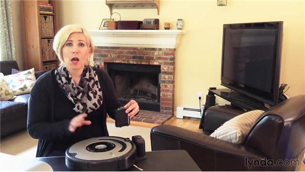 Vacuuming with the iRobot Roomba: Home Techonomics