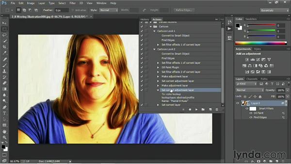 Creating a moving illustration: Premiere Pro Guru: Blending Mode Secrets