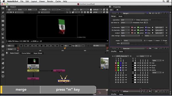 Reconstructing the beauty pass: VFX Techniques: Creating a CG Flag with Nuke X and CINEMA 4D