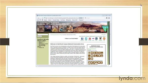 Using screenshots: PowerPoint: Using Photos and Video Effectively for Great Presentations