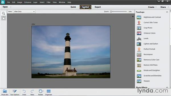 Prepping a photo for PowerPoint with Photoshop Elements: PowerPoint: Using Photos and Video Effectively for Great Presentations