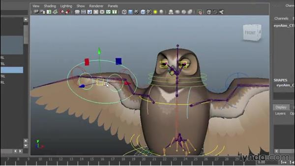 Welcome: Rigging a Winged Animal in Maya