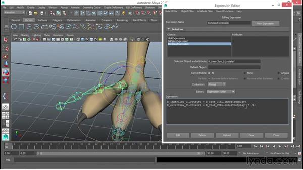 Dealing with secondary appendages: Rigging a Winged Animal in Maya