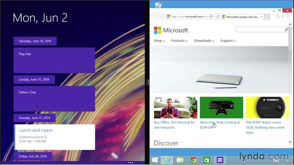 Opening multiple app windows on one screen: Windows 8.1 Tips and Tricks