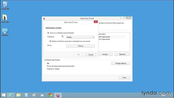 Optimizing your hard drive: Windows 8.1 Tips and Tricks
