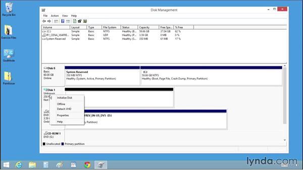 Creating a virtual drive: Windows 8.1 Tips and Tricks
