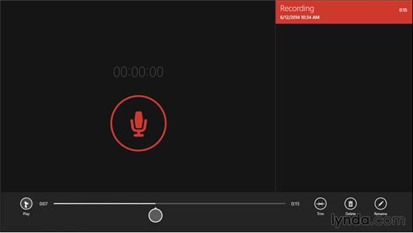 Recording audio with Sound Recorder: Windows 8.1 Tips and Tricks