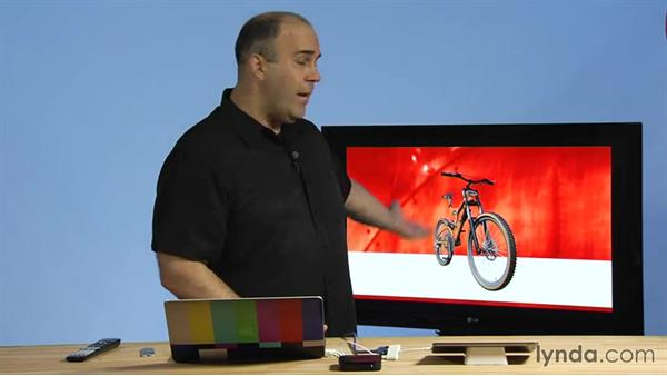 Running a presentation from an iPad to a television via HDMI: Delivering Keynote 6 Presentations